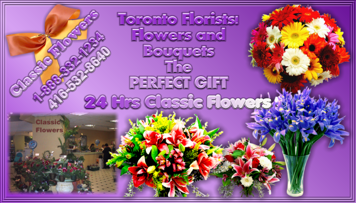 Toronto Florists Flowers delivery Display Ad